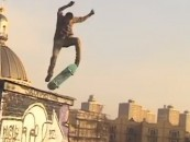 Insane! Radical! Unreal! <br/>Rooftop Skateboarding In NYC <br/>TENGU: God of Mischief Roof Skating