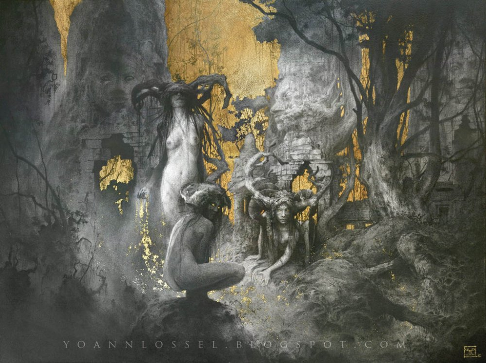 pure fire  pure magic u2026 yoann lossel art spotlight