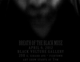 Breath of the Black Muse<br/>Art Opening Tomorrow!
