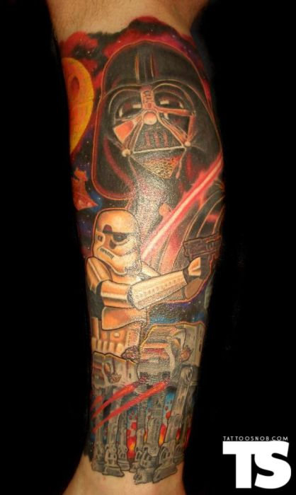 forever young u2026 star wars tattoos