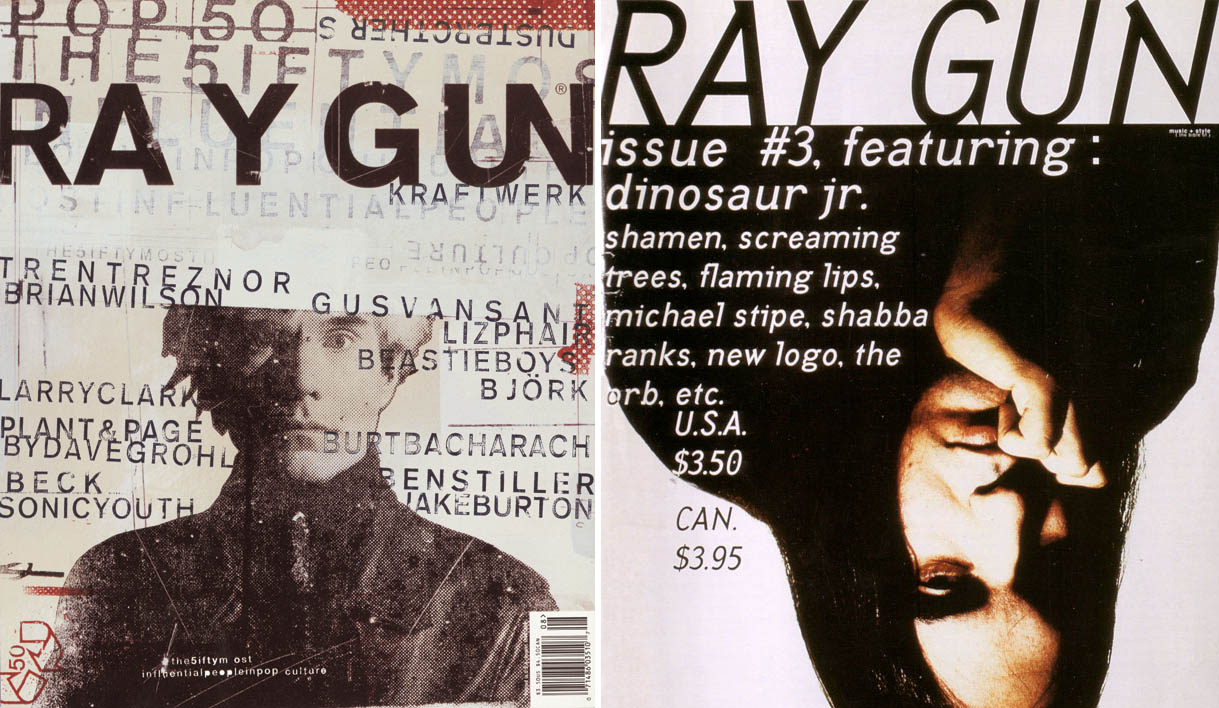 fuck yeah  ray gun changed 90 u2019s graphic design