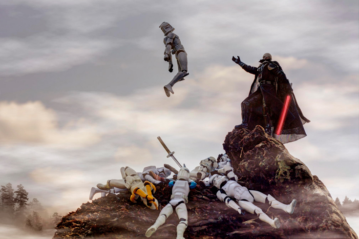 star wars miniatures living life to the fullest zahir batin photo  fstoppers zahir batin star wars creative toy photography