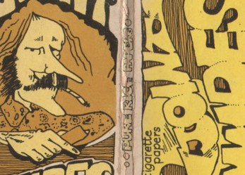 The ART of Getting High! <br/>70's Rolling Paper Packaging