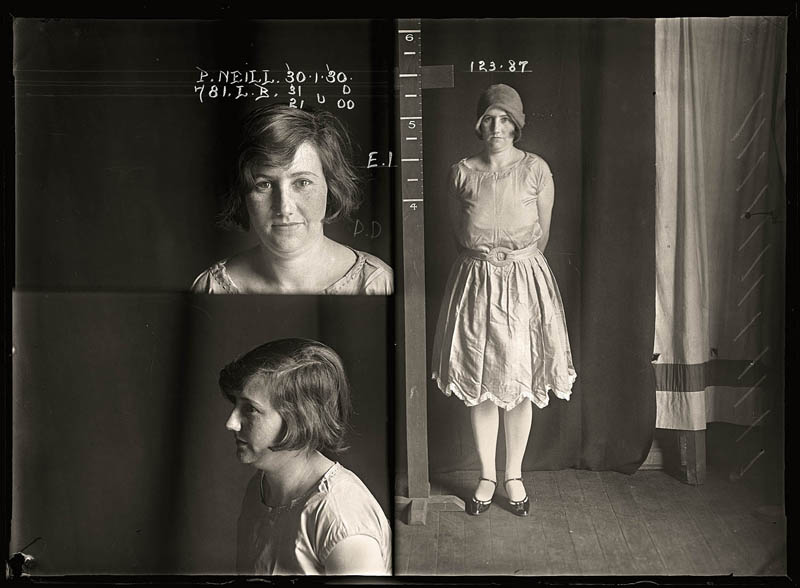 Vintage Faces Of Crime Women S Mugshots From The 1920s