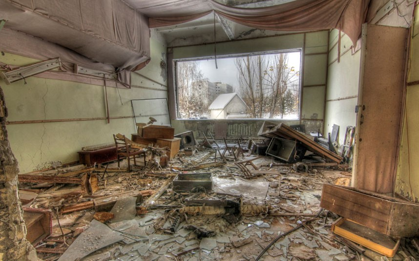 A Real Life Post Apocalyptic Wasteland Chernobyl Photos