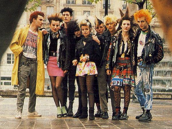 Portraits Of French Punk Culture From The 80 S