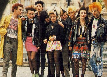 Portraits of…<br/>French Punk Culture  From The 80′s