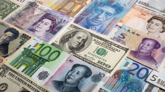 Various-World-Currencies-Dollar-Yuan-Yen-Euro-Pound
