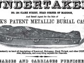 Prevents Unlawful Resurrections! <br/>19th Century Metal Coffins