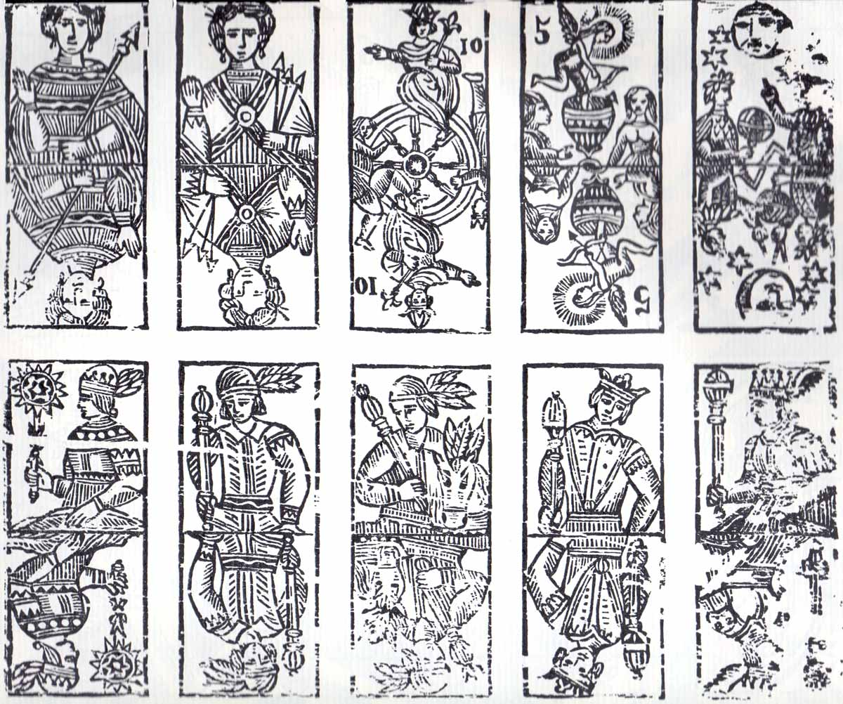 The Empress and Death Antique Tarot Cards | CVLT Nation