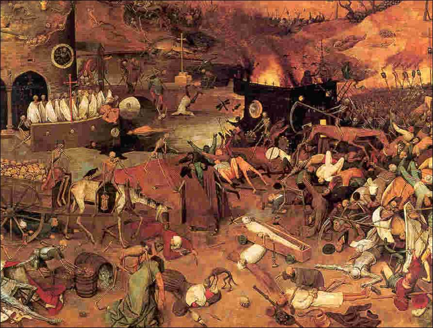 the effects of the black death on medieval europe The 14th century eruption of the black death had a drastic effect on europe's population in europe, the medieval warm period ended sometime black spots or.