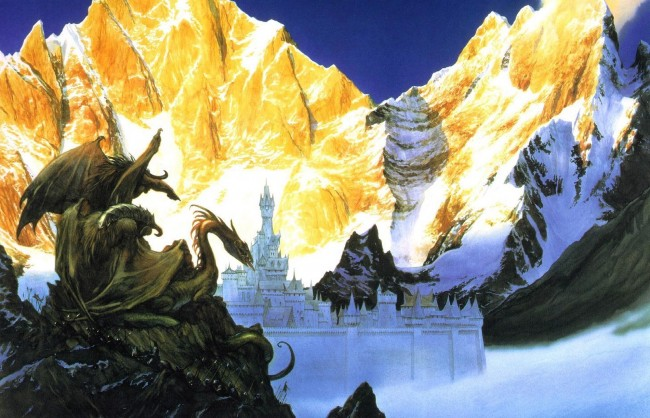 Morgoths Forces Before Gondolin By John Howe