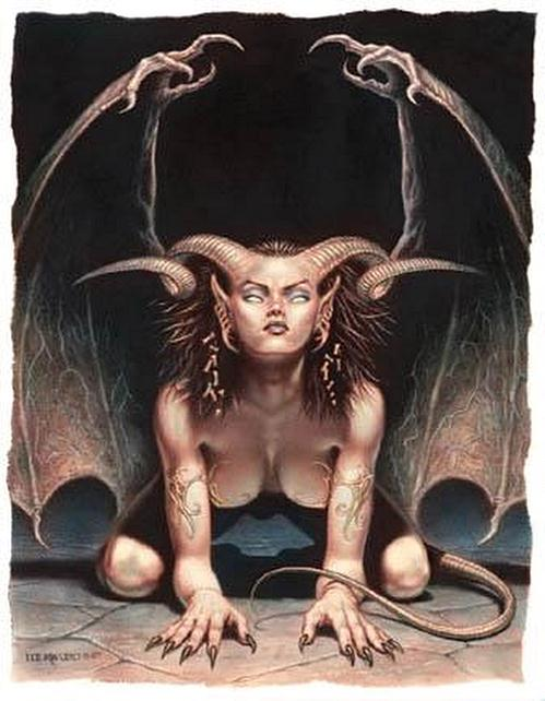 Demon By Todd Lockwood