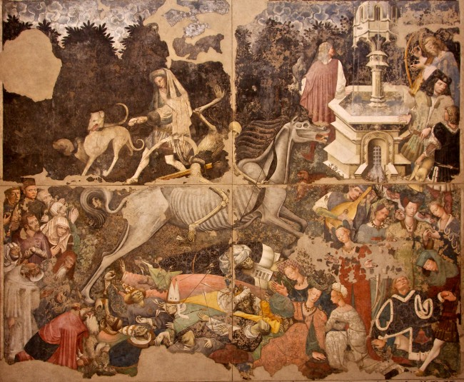 Triumph of Death Wall Painting, ca. 1448, Palazzo Abatellis