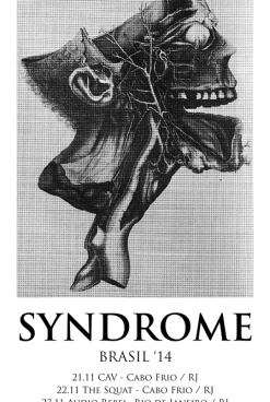 First Cross-Atlantic Tour…<br/>Syndrome Goes To Brazil