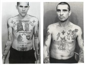 Portraits Of Criminals Covered In Russian Prison Tattoos!