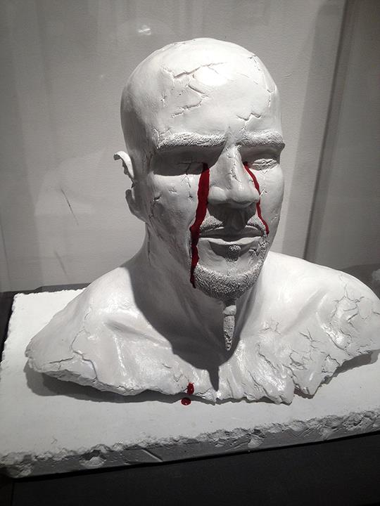 Blood From A Stone (sculpture)