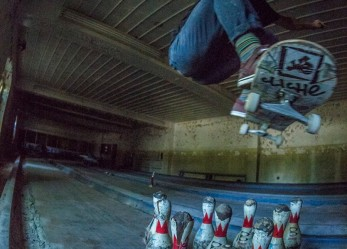 SKATEBOARDING NEW YORK'S ABANDONED PSYCH WARD