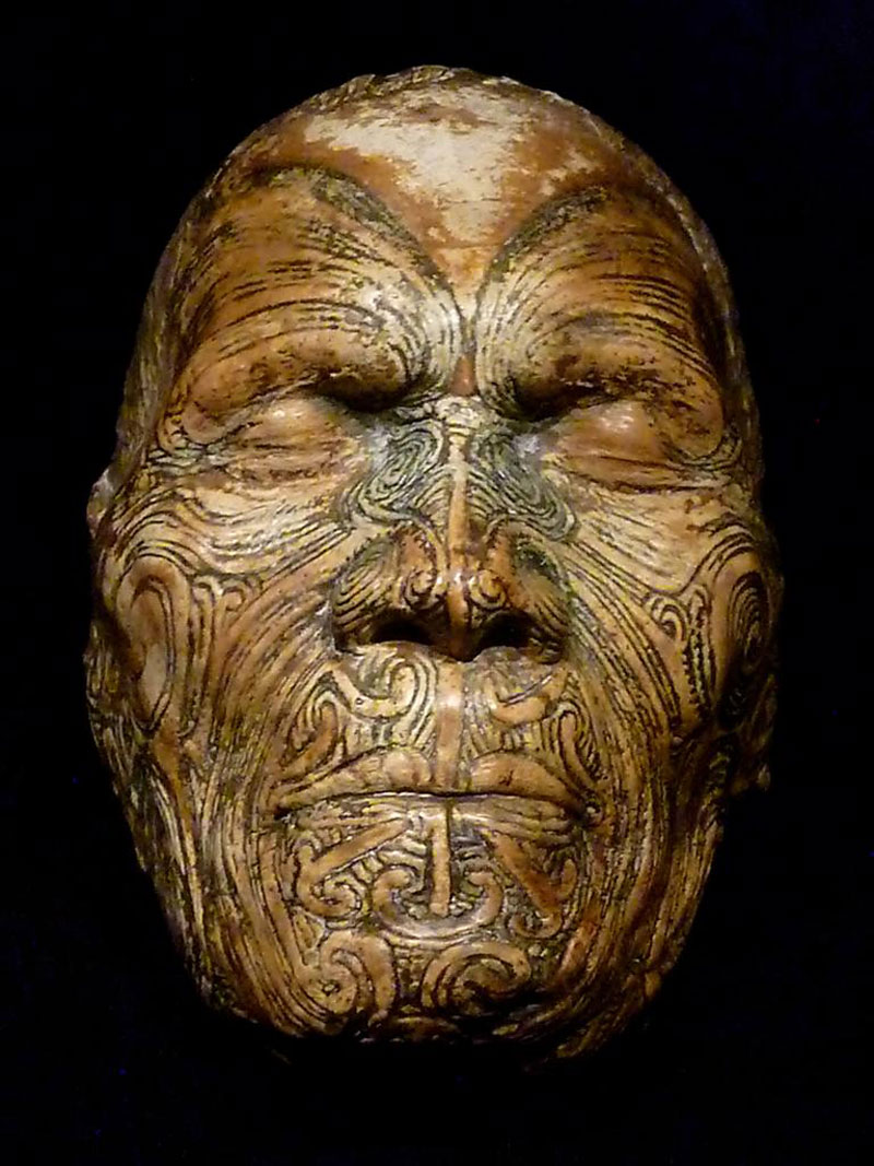 mokomokai the preserved heads of maori tribespeople. Black Bedroom Furniture Sets. Home Design Ideas
