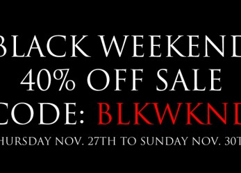 Black Weekend! 40%-70% OFF in the CVLT Nation Store…