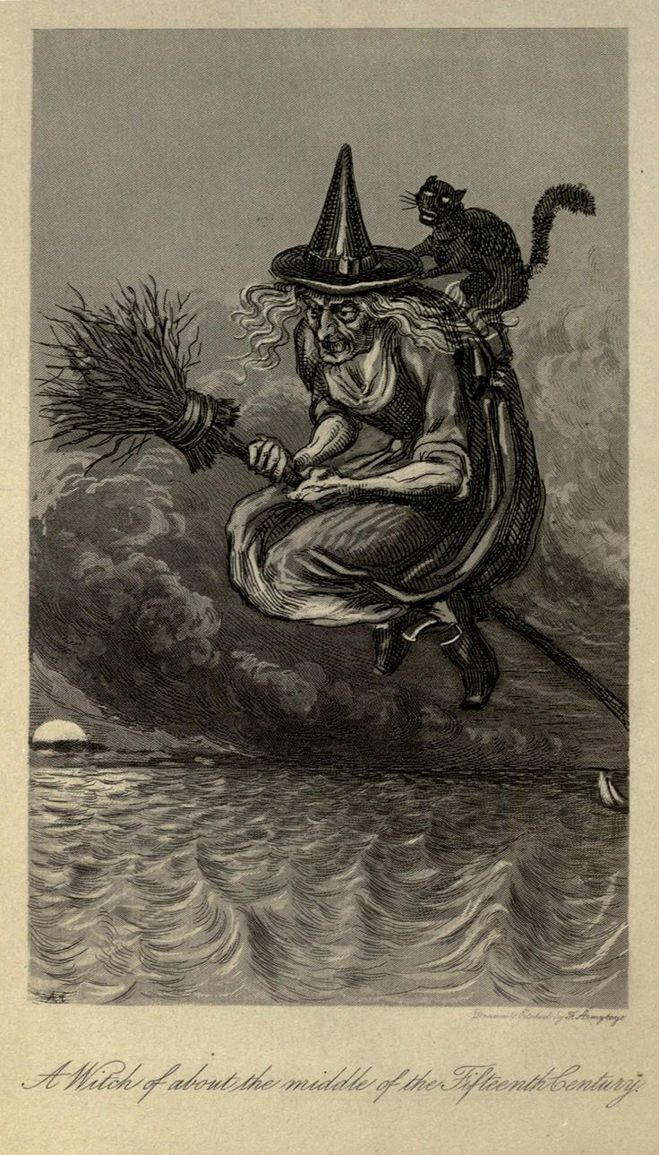 evil woman witches of the 18th and 19th centuries