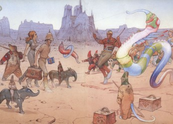 Fuck Yeah The Unreal Art of Moebius!