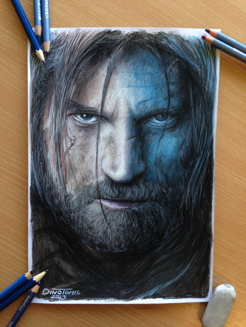 AtomiccircuS jaime_lannister_color_pencil_drawing_by_atomiccircus-d5xldrx