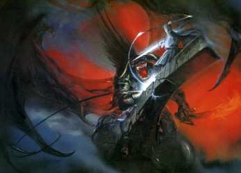 Where the Shadows Lie… John Howe's Tolkien Artwork