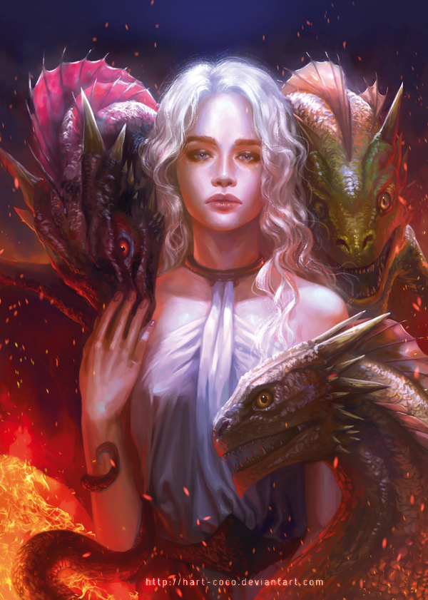 hart game_of_thrones__daenerys_by_hart_coco-d743qm1