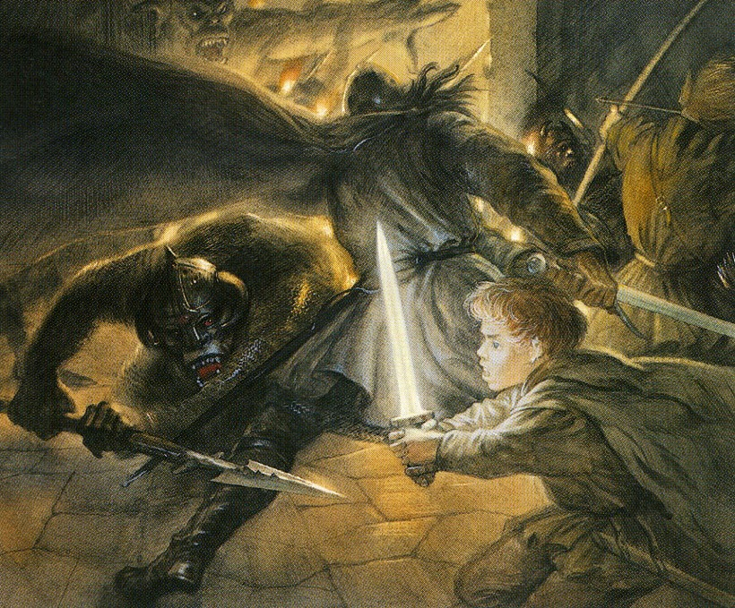 john_howe_middle-earth_under his blow