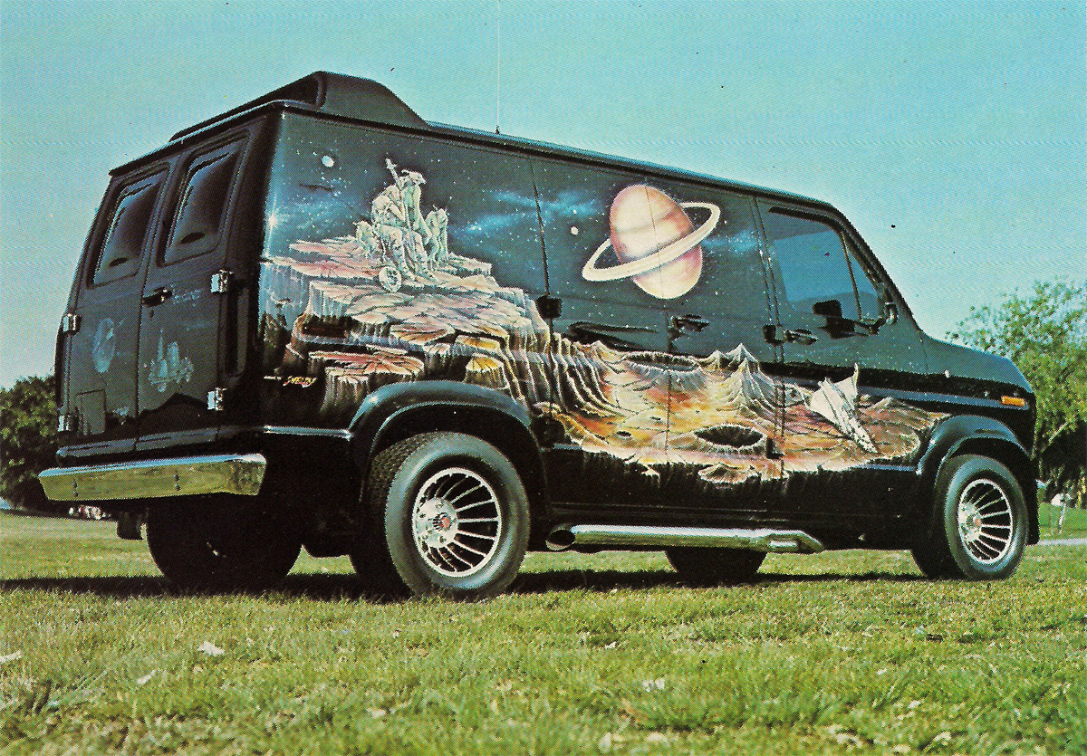Custom Paint  Dodge Van