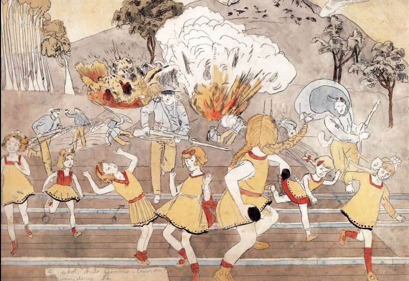 Henry Darger Painting 2