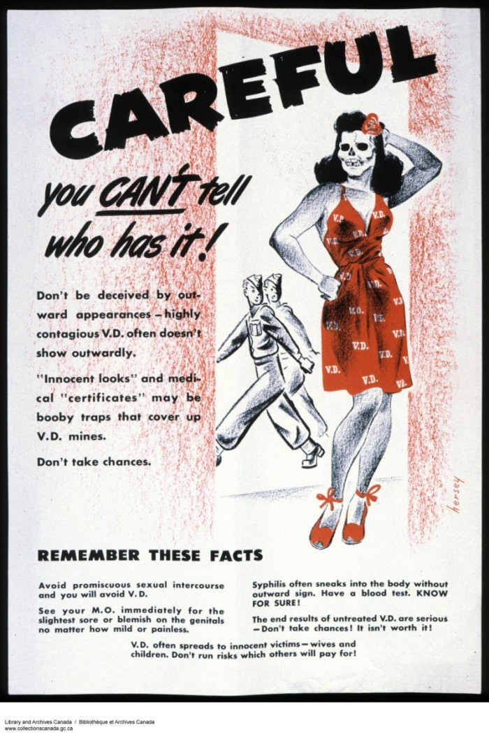 crazy venereal disease posters from wwii  u2013 cvlt nation