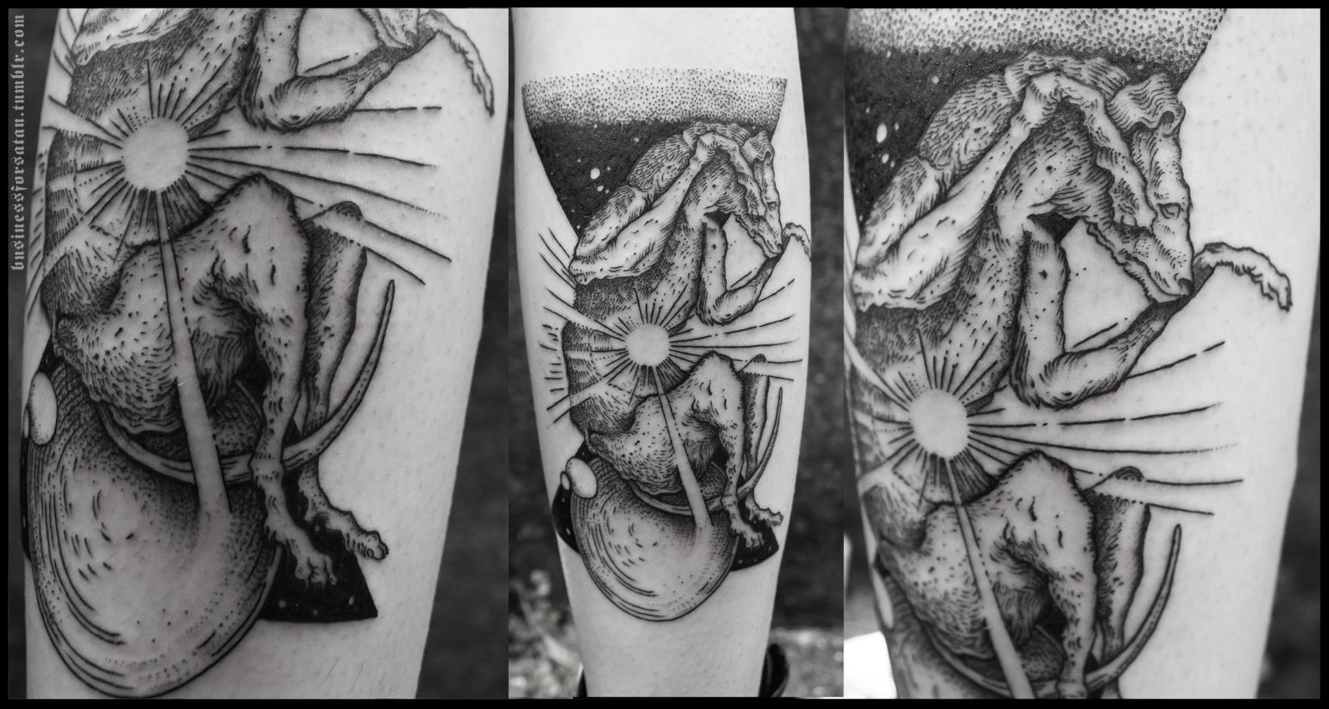 a master of black ink  business for satan tattoo spotlight