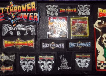 Fuck Yeah BOLT THROWER Rules…Merch Essay!