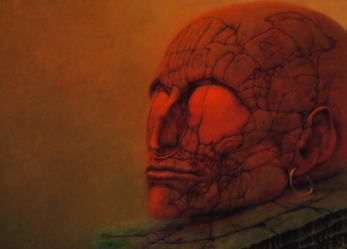 The Fantastic Art of Beksinski, the art book