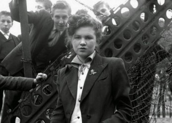 Portraits of London's 1950's Teddy Girl Gangs
