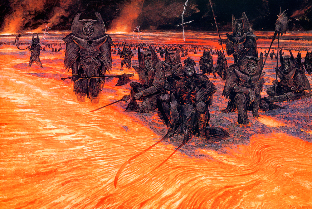 visions of hell  the art of wayne douglas barlowe