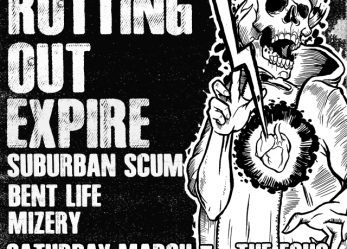 Los Angeles Ticket Giveaway! ALL AGES: Rotting Out, Expire, Suburban Scum, Bent Life and Mizery
