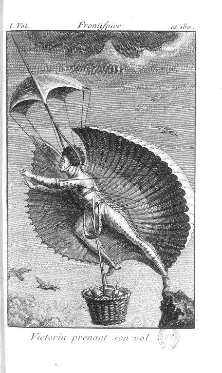 Mythology-French-People-as-animals-Flying-person