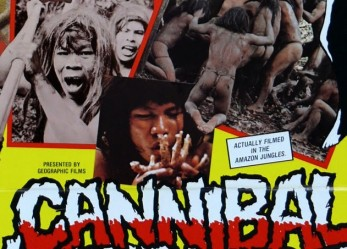 Flesh Eating Cult Classic! <br/>CANNIBAL HOLOCAUST Now Showing