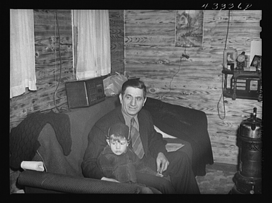 Owner of a trailer camp with gold teeth. He gets a dollar fifty per week for trailer or tent space. Near Fayetteville, North Carolina Creator(s): Delano, Jack, photographer Date Created/Published: 1941 Mar.