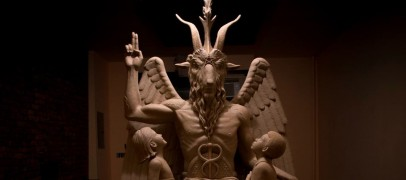 The Satanic Temple Baphomet Statue Unveiling in Detroit