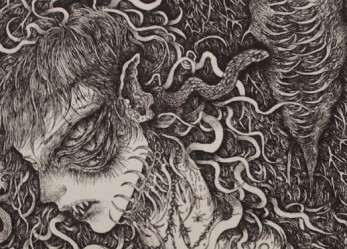 The Beautiful Morbid Etchings of IKUMA NAO