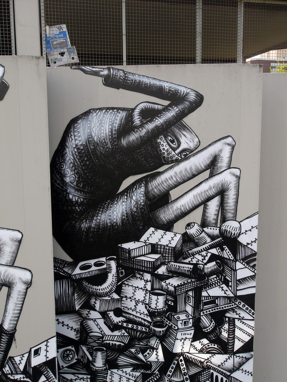 the out of this world street art of phlegm 8