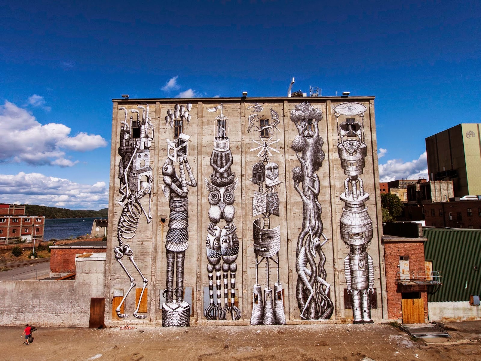 The Out Of This World Street Art Of Phlegm