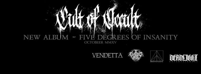 Cult Of Occult's promotional Facebook cover photo