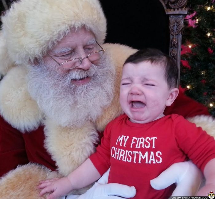mommy  i u2019m scared u2026creepy santa photos pt 2