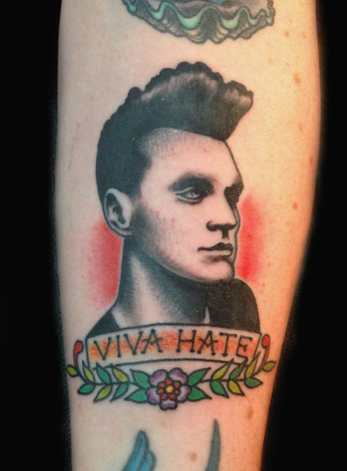 to me you are a work of art  the tattoos of morrissey