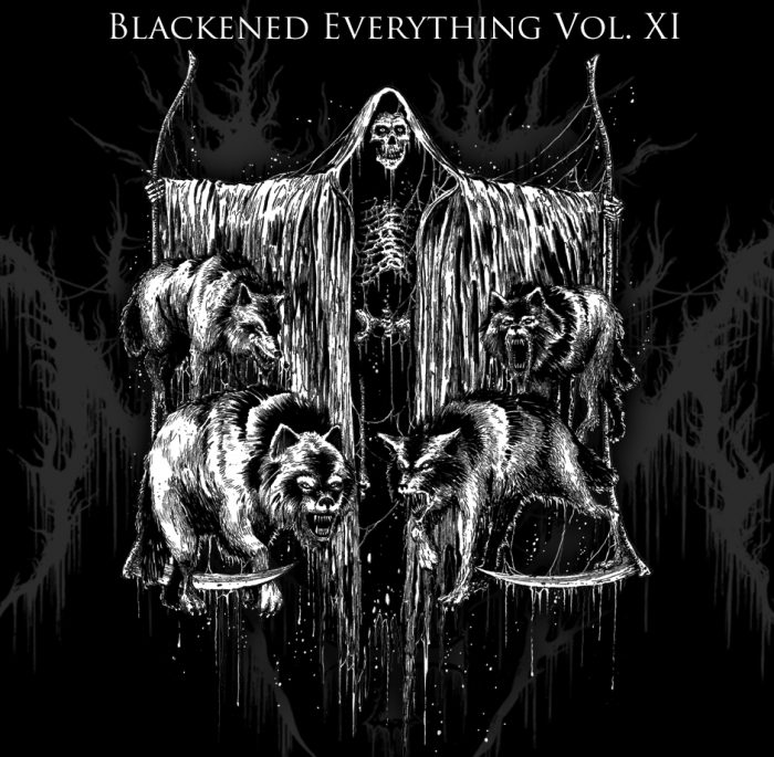 blackened everything